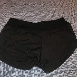 Black Ivviva Running Shorts